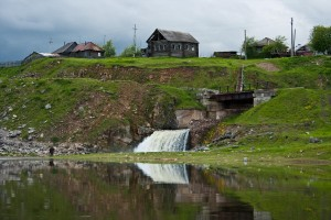 р.Койва. Поселок Кусье-Александровский