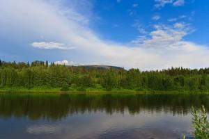 Вид на гору Чувал (912м)
