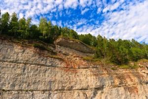 Терраса на скале Говорливый камень