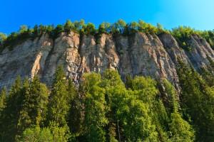 Скала Ветлан (высота 120м)
