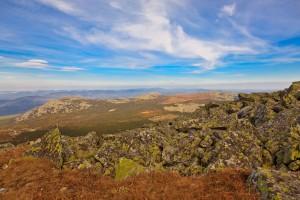 Вид с горы Большой Иремель