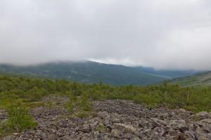 Перевалы на Серебрянском хребте