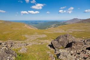 Вид на Иовское плато