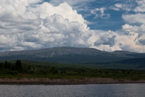 Вид на г.Ослянка (высота 1119м).