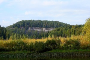 Скала Панорамный камень