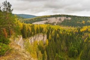 Вид со скалы Панорамный камень