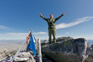Покоритель главной горы на Урале