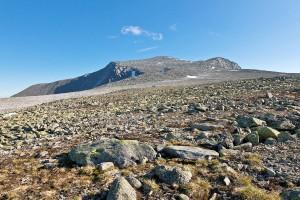 Вид на г.Народная с предвершинного плато