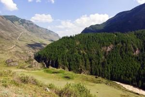Алтай. Долина реки Чуя.