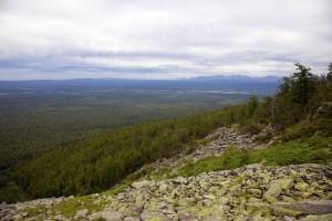 Вид на долину Щугора