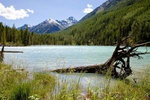 На озере Кучерлинском