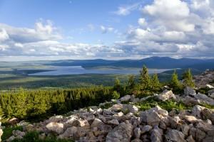 Вид на озеро Зюраткуль