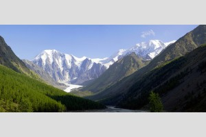 Вид на ледник Маашей